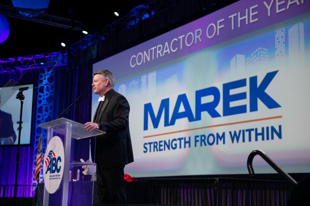 Associated Builders and Contractors Names MAREK Contractor